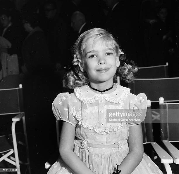 Actress Evelyn Rudie poses during the Emmy Nominations in Los Angeles,CA.