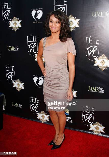 Actress Evelyn Vaccaro arrives at the 2010 HollyShorts film festival - FETE Networking Event at The Kress on July 16, 2010 in Hollywood, California.