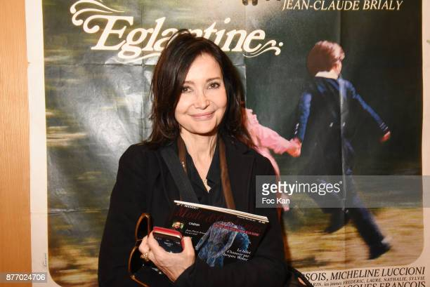 PARIS FRANCE NOVEMBER Actress Evelyne Bouix attends the Tribute to JeanClaude Brialy at Centre National du Cinema et de l'Image Animee on November 20...