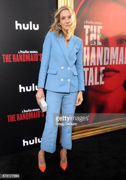 Actress Ever Carradine arrives at the premiere of Hulu's 'The Handmaid's Tale' at ArcLight Cinemas Cinerama Dome on April 25 2017 in Hollywood...