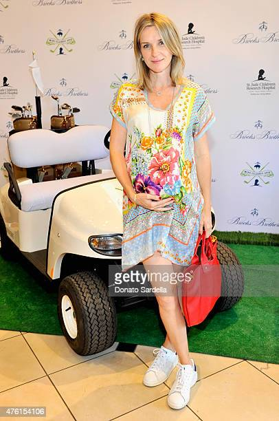 Actress Ever Carradine attends Brooks Brothers MINI CLASSIC Golf Tournament to benefit St Jude Children's Research Hospital at Brooks Brothers...