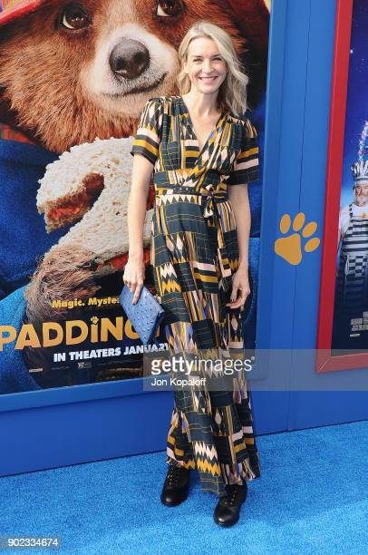 Actress Ever Carradine attends the Los Angeles Premiere 'Paddington 2' at Regency Village Theatre on January 6 2018 in Westwood California