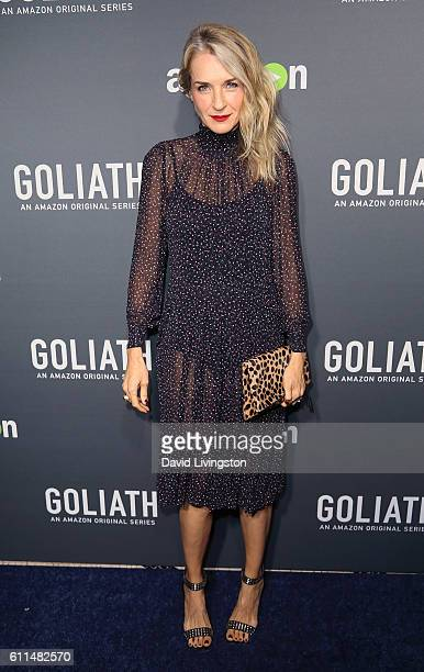 Actress Ever Carradine attends the premiere of Amazon's 'Goliath' at The London West Hollywood on September 29 2016 in West Hollywood California