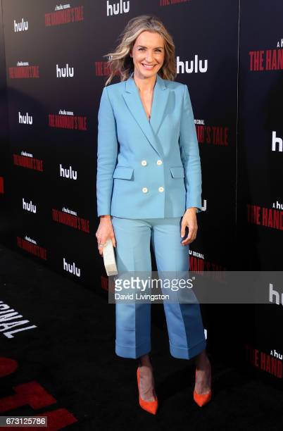 Actress Ever Carradine attends the premiere of Hulu's 'The Handmaid's Tale' at ArcLight Cinemas Cinerama Dome on April 25 2017 in Hollywood California