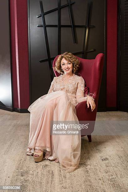 Actress Evgenia Dodina is photographed for Self Assignment on May 15 2016 in Cannes France