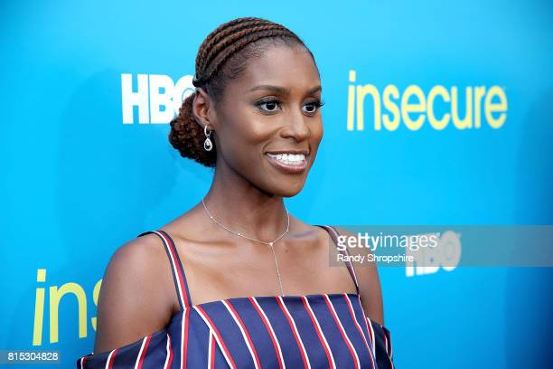 Actress executive producer and star Issa Rae attends a block party celebrating HBO's new season of Insecure on July 15 2017 in Inglewood California