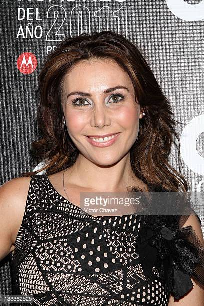 Actress Fabiana Perzabal attends the 2011 GQ Mexico Men of the Year party at the Salon Arcos Bosques on November 17 2011 in Mexico City Mexico