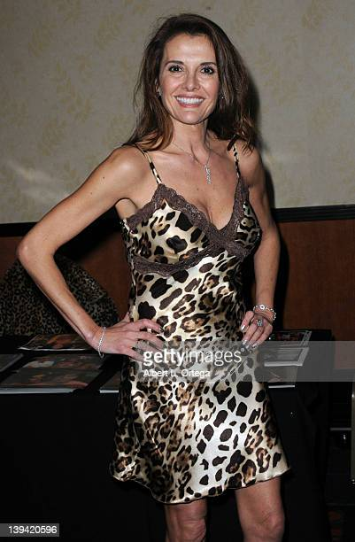 Actress Fabiana Udenio attends the Hollywood Show held at Burbank Airport Marriott on February 11 2012 in Burbank California
