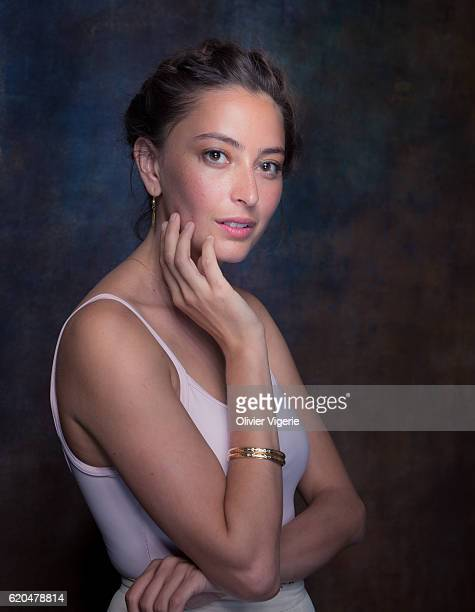 Actress Fabianne Therese is photographed for Self Assignment on September 3 2016 in Deauville France