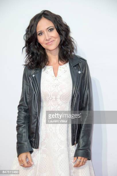 Actress Fabienne Carat attends Plus Belle La Vie Photocall during the 19th Festival of TV Fiction at La Rochelle on September 15 2017 in La Rochelle...