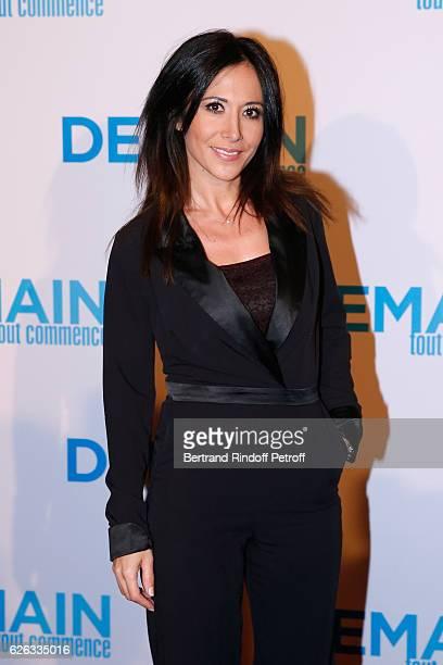 Actress Fabienne Carat attends the Demain Tout Commence Paris Premiere at Cinema Le Grand Rex on November 28 2016 in Paris France