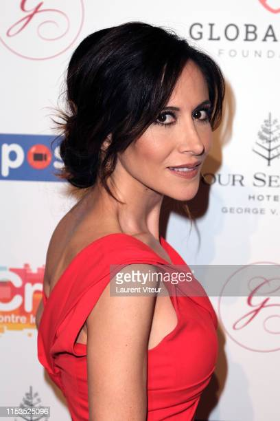 Actress Fabienne Carat attends the Global Gift Gala Paris 2019 at Four Seasons Hotel George V on June 03 2019 in Paris France