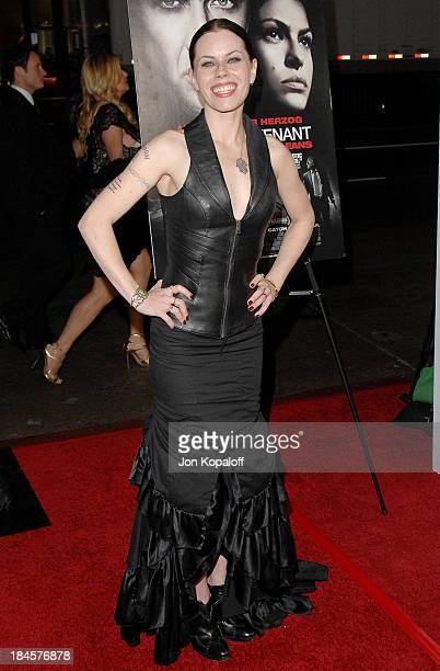 Actress Fairuza Balk arrives at AFI Fest 2009 'Bad Lieutenant Port Of Call New Orleans' Los Angeles Premiere at Grauman's Chinese Theatre on November...