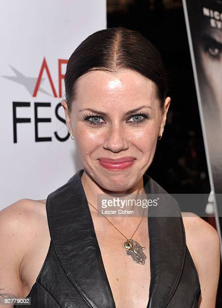 Actress Fairuza Balk arrives at the AFI Fest Screening Of 'Bad Lieutenant Port Of Call New Orleans' Grauman's Chinese Theatre on November 4 2009 in...