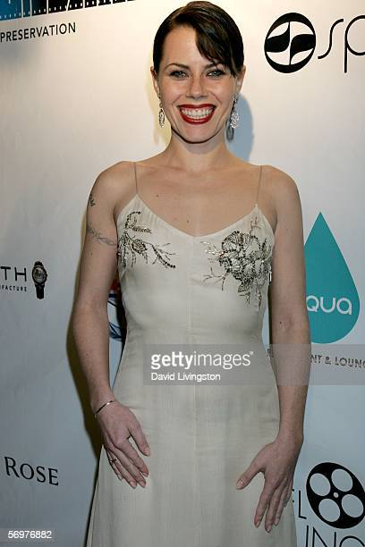 Actress Fairuza Balk arrives at the Reel Lounge Gala Benefit For The Film Foundation held at Aqua on March 1 2006 in Beverly Hills California