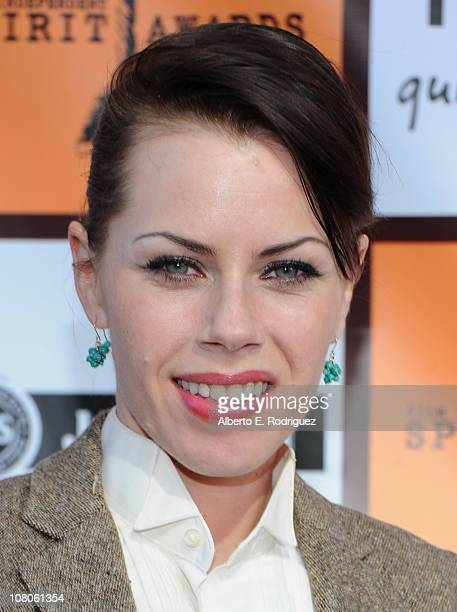 Actress Fairuza Balk arrives to the 2011 Independent Spirit Awards Filmmaker Grant and Nominee Brunch on January 15 2011 in Los Angeles California