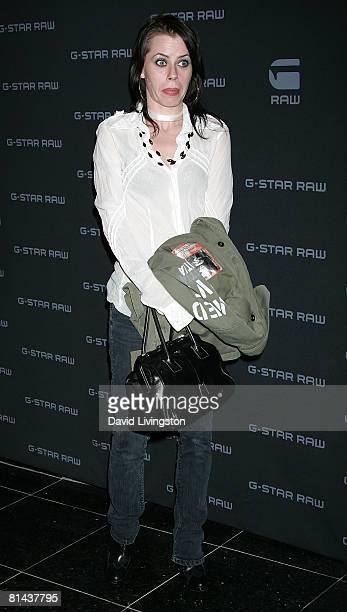Actress Fairuza Balk attends GStar's launch of LA Raw Nights at GStar on June 4 2008 in Beverly Hills California