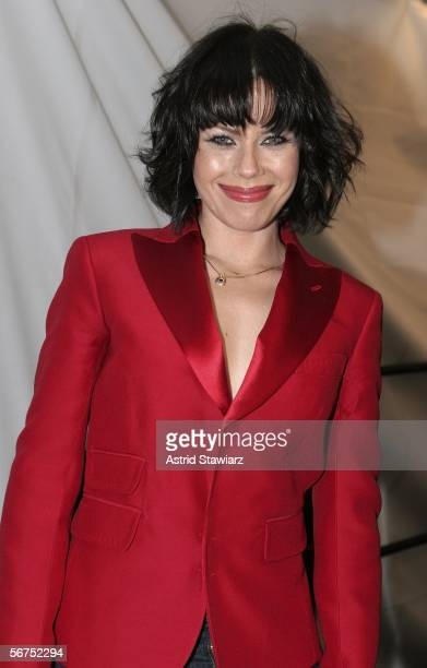 Actress Fairuza Balk attends Olympus Fashion Week Fall 2006 at Bryant Park February 05 2006 in New York City