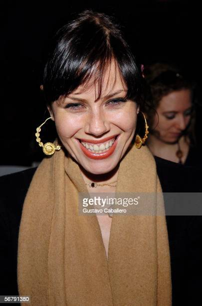 Actress Fairuza Balk attends Olympus Fashion Week Fall 2006 at Bryant Park February 08 2006 in New York City