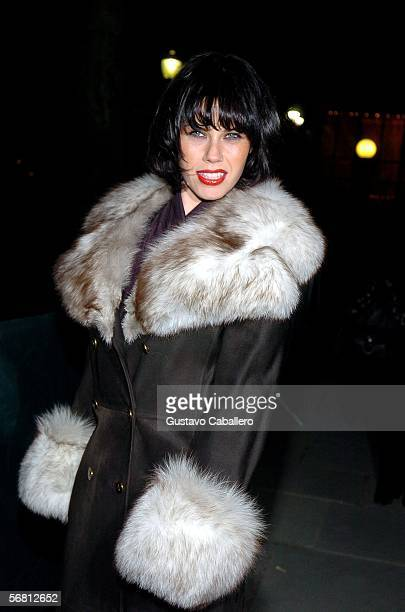 Actress Fairuza Balk attends Olympus Fashion Week Fall 2006 at Bryant Park February 09 2006 in New York City