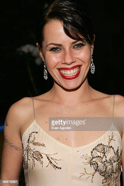 Actress Fairuza Balk attends the Reel Lounge Gala Benefit For The Film Foundation held at Aqua on March 1 2006 in Beverly Hills California