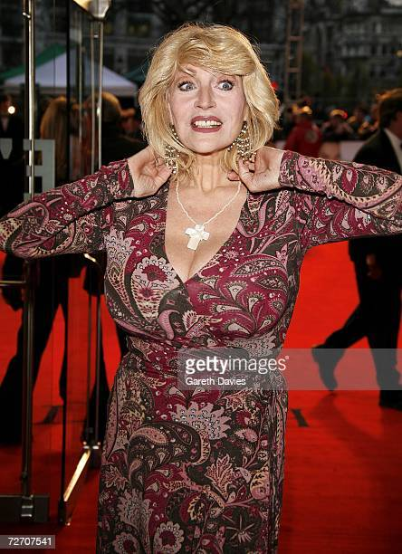 Actress Faith Brown arrives at the world premiere of Miss Potter at Odeon Leicester Square on December 3 2006 in London England