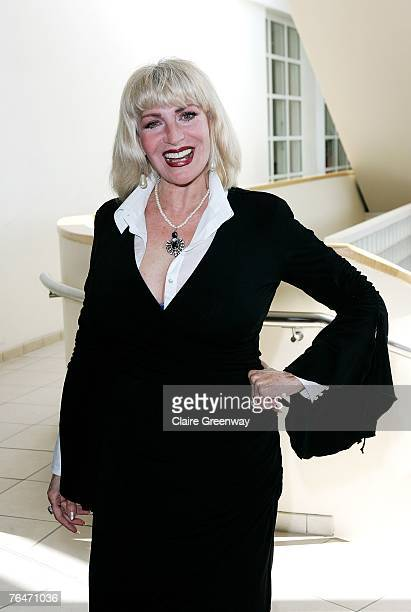 Actress Faith Brown attends the 49th Variety Club Race Day at Sandown race course on September 1 2007 in London England The charity raises funds to...