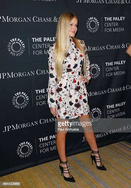 Actress Faith Schroder attends the Paley Center For Media's Tribute To AfricanAmerican Achievements In Television at the Beverly Wilshire Four...
