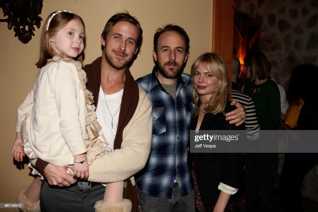 Actress Faith Wladyka, Actor Ryan Gosling, Director Derek Cianfrance And  Actress Michelle Williams Attend