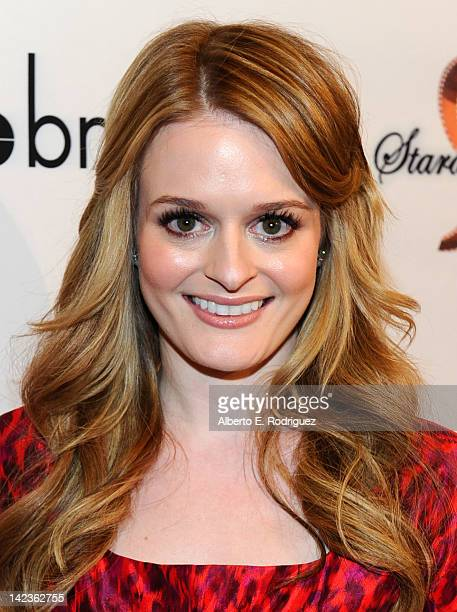 Actress Fallon Goodson arrives to the premiere of Lfe Happens at AMC Century City 15 theaters on April 2 2012 in Century City California