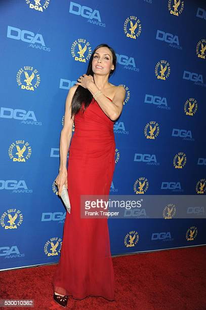 Actress Famke Janssen arrives at the 65th Annual Directors Guild Awards held at the Ray Dolby Ballroom at Hollywood Highland