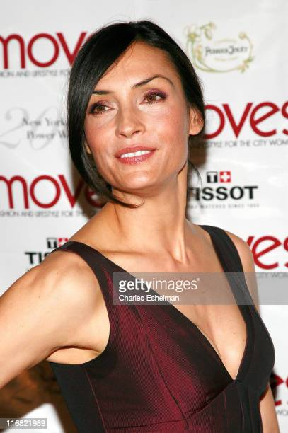 Actress Famke Janssen attends the 2008 Moves Power Women event at The Carlton on September 23 2008 in New York City