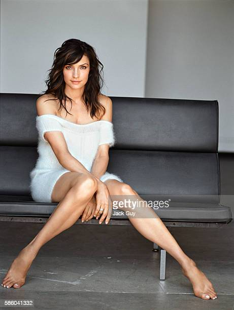 Actress Famke Janssen is photograpehd for Item Magazine on June 1 2004 in Los Angeles California