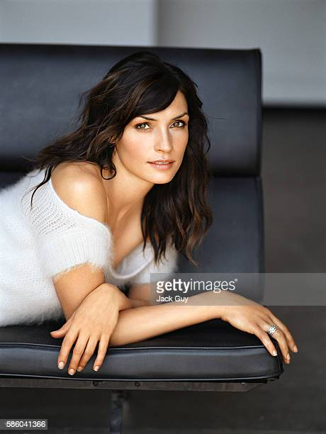 Actress Famke Janssen is photograpehd for Item Magazine on June 1 2004 in Los Angeles California COVER IMAGE