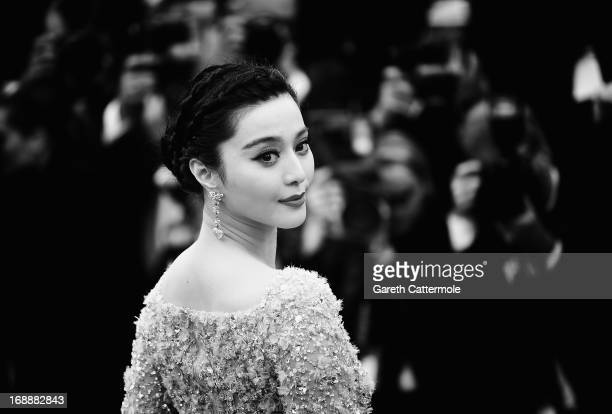 Actress Fan Bing Bing attends 'The Bling Ring' premiere during The 66th Annual Cannes Film Festival at the Palais des Festivals on May 16 2013 in...
