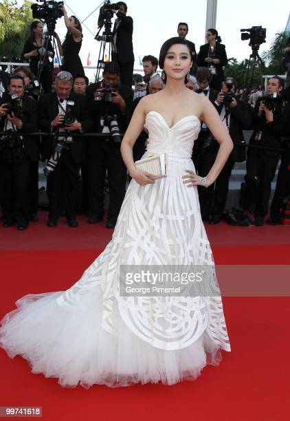 Actress Fan Bing Bing attends the premiere of 'Biutiful' held at the Palais des Festivals during the 63rd Annual International Cannes Film Festival...
