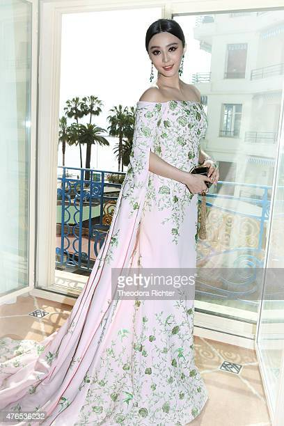 Actress Fan Bing Bing is photographed for Self Assignment on May 15 2015 in Cannes France