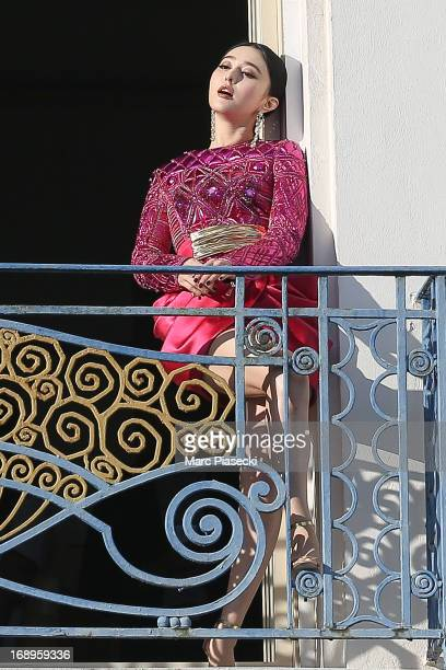 Actress Fan Bing Bing is seen at the 'Grand Hyatt Hotel Martinez Cannes' during the 66th Annual Cannes Film Festival on May 17 2013 in Cannes France