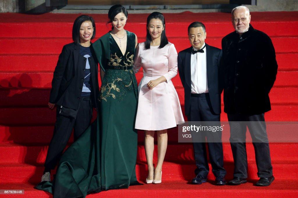 1st Pingyao Crouching Tiger Hidden Dragon International Film Festival - Red Carpet : News Photo