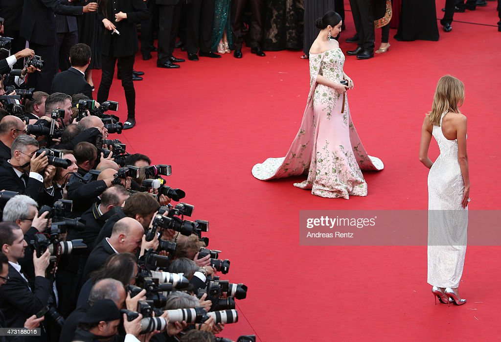 "Opening Ceremony & ""La Tete Haute"" Premiere - The 68th Annual Cannes Film Festival : News Photo"