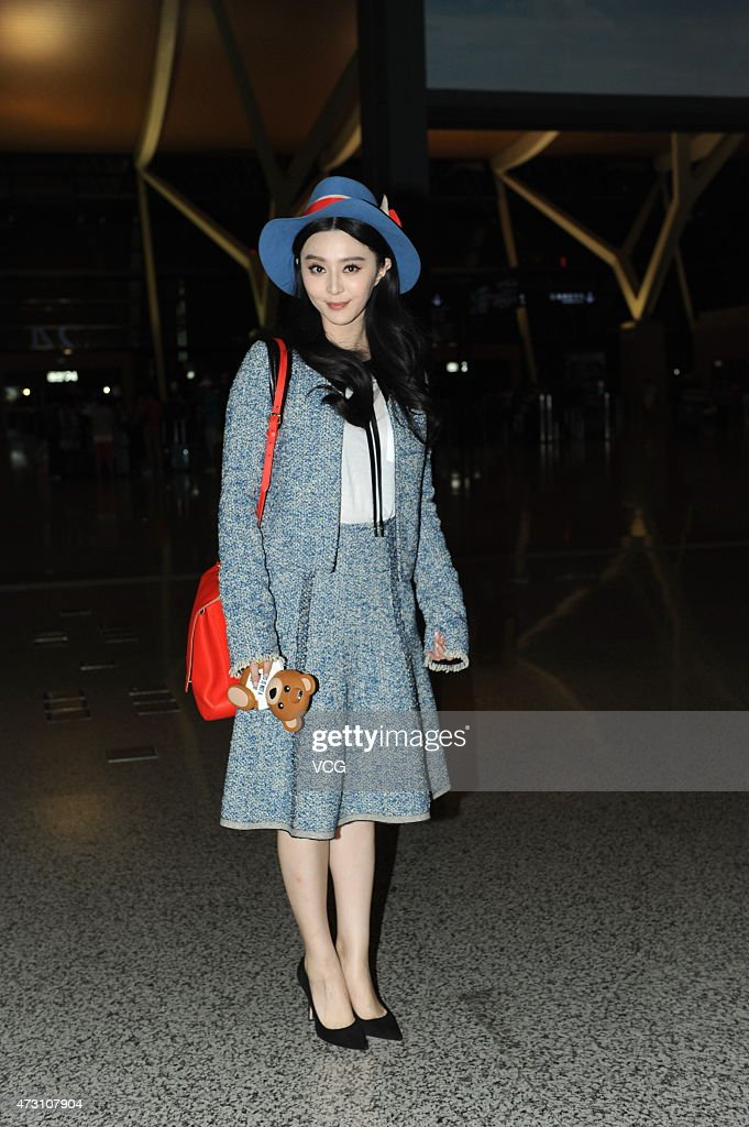 Fan Bingbing Appears At Shanghai Airport : News Photo