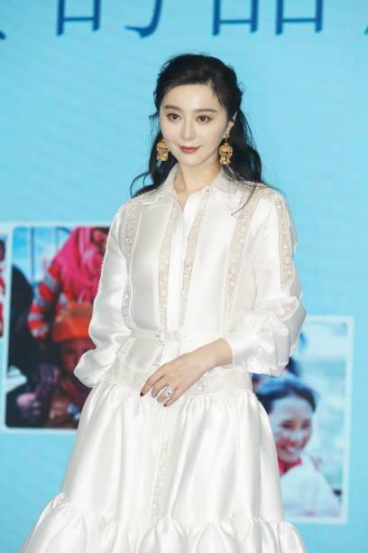 CHN: Fan Bingbing Attends Be Strong Milk Powder Event In Shanghai