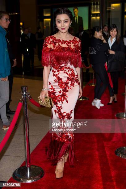 Actress Fan Bingbing attends the 2017 TIME 100 Gala at Jazz at Lincoln Center on April 25 2017 in New York City