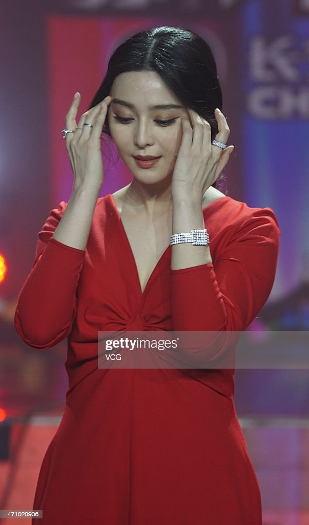 "Fan Bingbing Attends ""Amazing Chinese"" Recording In Shanghai : News Photo"