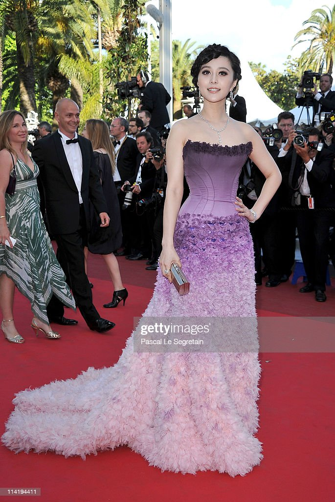 Actress Fan Bingbing attends 'The Artist' premiere at the Palais des Festivals during the 64th Annual Cannes Film Festival on May 15, 2011 in Cannes, France.