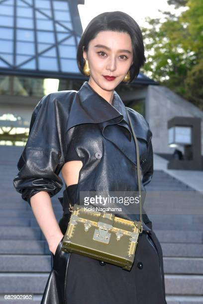 Actress Fan BingBing attends the Louis Vuitton Resort 2018 show at the Miho Museum on May 14 2017 in Koka Japan