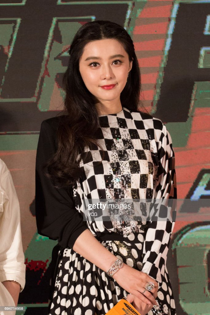 Fan Bingbing Attends 'The Amazing Race China' Press Conference : News Photo