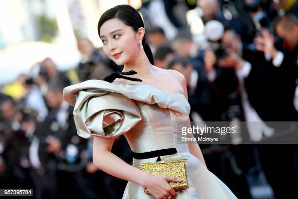 Actress Fan Bingbing attends the screening of Ash Is The Purest White during the 71st annual Cannes Film Festival at Palais des Festivals on May 11...