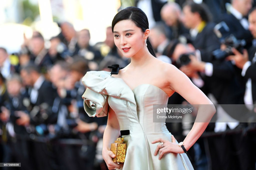 """""""Ash Is The Purest White (Jiang Hu Er Nv)"""" Red Carpet Arrivals - The 71st Annual Cannes Film Festival : News Photo"""