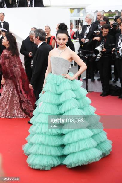Actress Fan Bingbing attends the screening of 'Everybody Knows ' and the opening gala during the 71st annual Cannes Film Festival at Palais des...